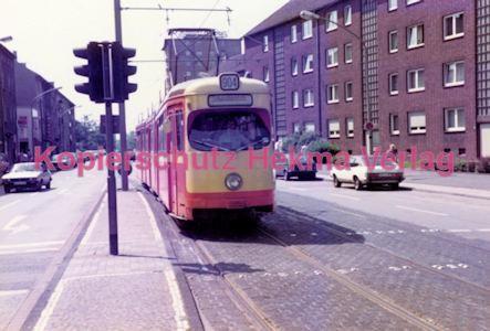 Duisburg Straßenbahn - Hauptbahnhof - Linie 904 Wagen Nr. 1236