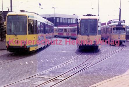 Essen Straßenbahn - Depot Borbeck - Wagen