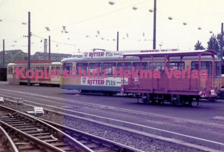 Essen Straßenbahn - Depot Borbeck - Wagen für den Winterdienst - Bild 1
