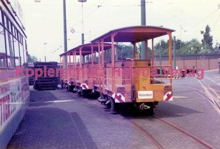 Essen Straßenbahn - Depot Borbeck - Wagen für den Winterdienst - Bild 2
