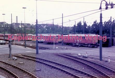 Essen Straßenbahn - Depot Borbeck - Wagen für den Winterdienst - Bild 3