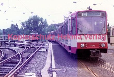 Essen Straßenbahn - Depot Borbeck - Linie U18 Wagen Nr. 5012