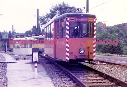Essen Straßenbahn - Depot Borbeck - Arbeitswagen Nr. 654