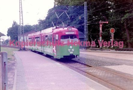 Frankfurt Straßenbahn - Verkehrsmuseum Schwanheim - Linie 21 Wagen Nr. 802