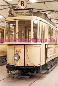 Frankfurt Straßenbahn - Verkehrsmuseum Schwanheim - Linie 8 Wagen Nr. 345