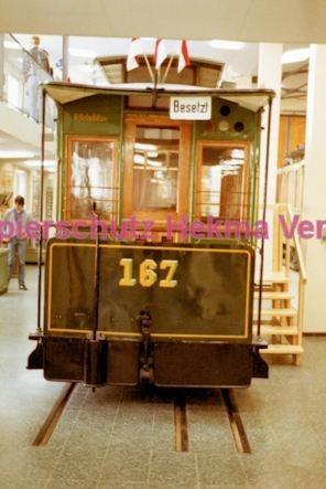 Frankfurt Straßenbahn - Verkehrsmuseum Schwanheim - Wagen Nr. 167