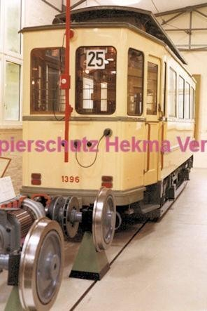 Frankfurt Straßenbahn - Verkehrsmuseum Schwanheim - Wagen Nr. 1396
