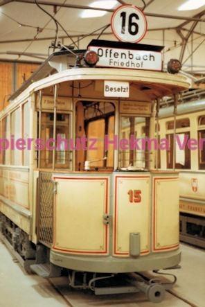 Frankfurt Straßenbahn - Verkehrsmuseum Schwanheim - Linie 16 Wagen Nr. 15