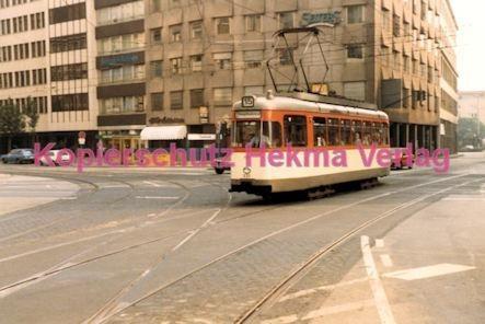 Frankfurt Straßenbahn - Theaterplatz - Linie 15 Wagen Nr. 237