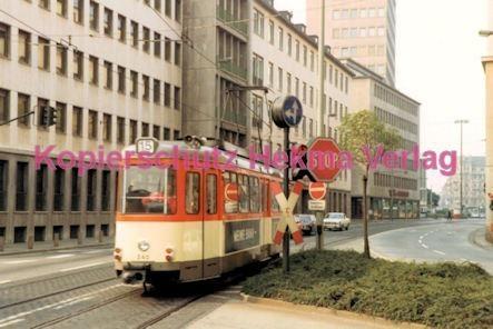 Frankfurt Straßenbahn - Theaterplatz - Linie 15 Wagen Nr. 240