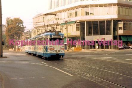Frankfurt Straßenbahn - Theaterplatz - Linie 14 Wagen Nr. 810