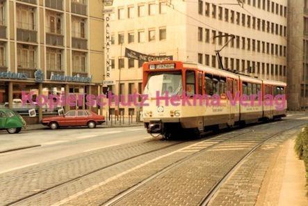 Frankfurt Straßenbahn - Theaterplatz - Linie 18 Wagen Nr. 725