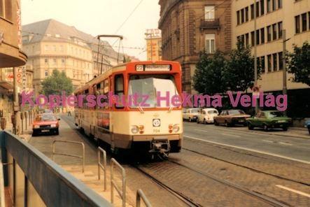 Frankfurt Straßenbahn - Theaterplatz - Linie 22 Wagen Nr. 704