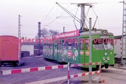Frankfurt Straßenbahn - Linie 14 Wagen Nr. 809 - Bild 2