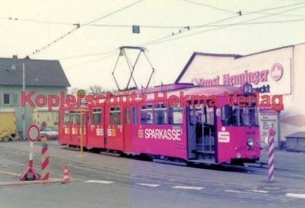 Heidelberg Straßenbahn - Eppelheim - Linie 2 Wagen Nr. 222