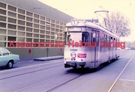 Heidelberg Straßenbahn - Linie 1 Wagen Nr. 233