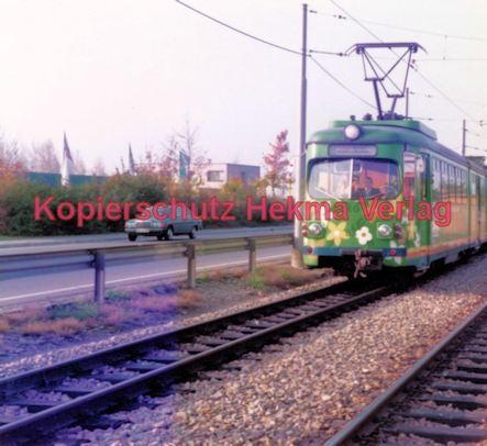 Heidelberg Straßenbahn - OEG - Wagen Nr. 83