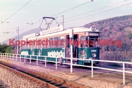 Heidelberg Straßenbahn - HSB - Linie 3 Wagen Nr. 240