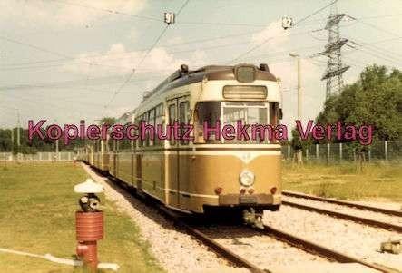 Karlsruhe Straßenbahn - Depot West - Wagen Nr. 49