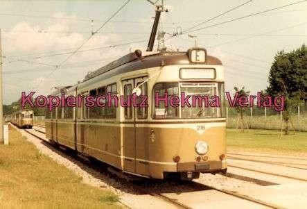 Karlsruhe Straßenbahn - Depot West - Wagen Nr. 216