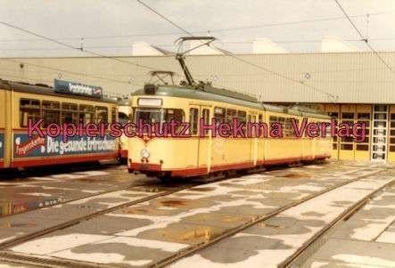 Karlsruhe Straßenbahn - Depot West - Wagen Nr. 218