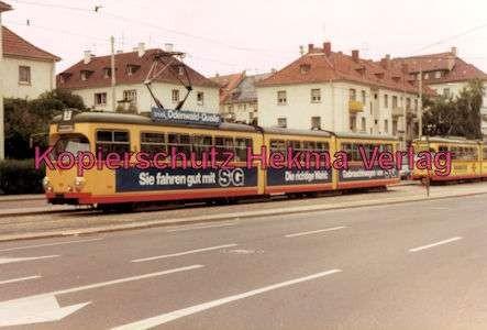 Karlsruhe Straßenbahn - Durchlach Entstation - GlTw. Nr. 190 - 1