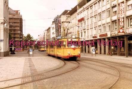 Karlsruhe Straßenbahn - Marktplatz Kaiserstr. - GlTw. Nr. 188