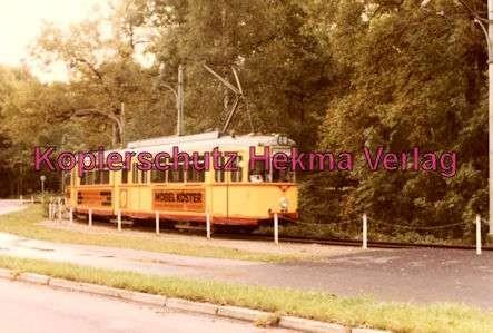 Karlsruhe Straßenbahn - Strecke Daxlanden-Rappenwört - GlTw. Nr. 217 - 4