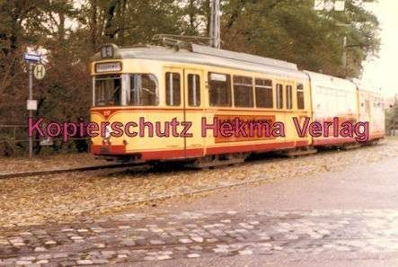 Karlsruhe Straßenbahn - Strecke Daxlanden-Rappenwört - GlTw. Nr. 217 - 7