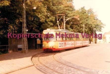 Karlsruhe Straßenbahn - Strecke Daxlanden-Rappenwört - GlTw. Nr. 200