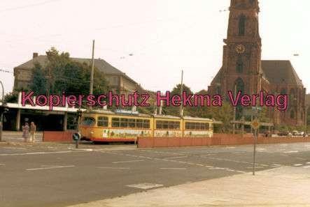 Karlsruhe Straßenbahn - Durlacher Tor - GlTw. - 2