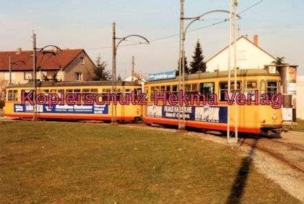 Karlsruhe Straßenbahn - Depot Tullastr. - GlTw. Nr. 138 - 1