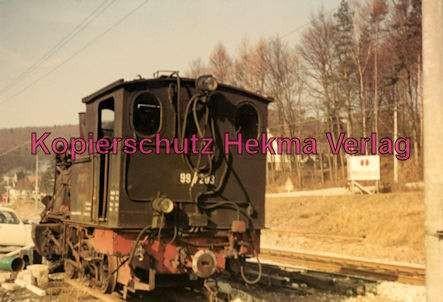 Karlsruhe Straßenbahn - Lok 99 7203