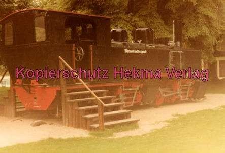 Karlsruhe Straßenbahn - Rheinstrandbad Rappenwört - Denkmallok - 1