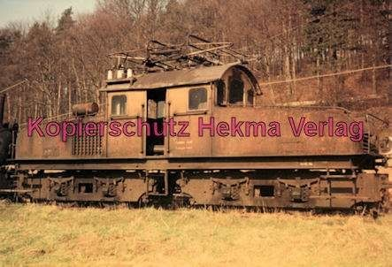 Karlsruhe Straßenbahn - Busenbach - 4Achs E-Lok Nr. 2 (Siemens) - 1