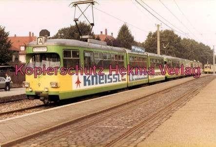 Karlsruhe Straßenbahn - Bahnhof Ettlingen Stadt - Wagen Nr. 9