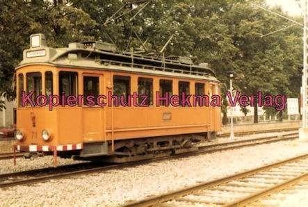 Karlsruhe Straßenbahn - Ettlingen Stadt - Spiegelwagen Nr. 71 - 2