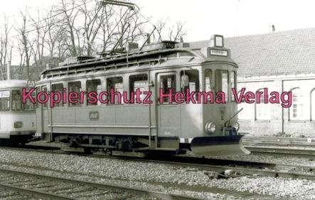 Karlsruhe Straßenbahn - Ettlingen Stadt - Spiegelwagen Nr. 71 - 4