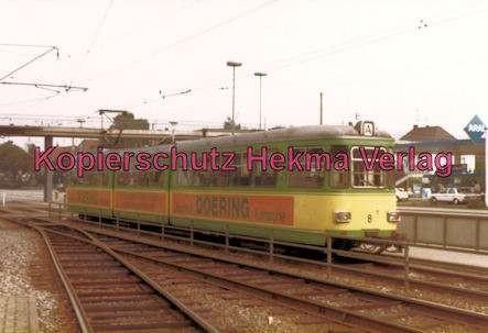 Karlsruhe Straßenbahn - Haltestelle Rüppur - GT. Nr. 8