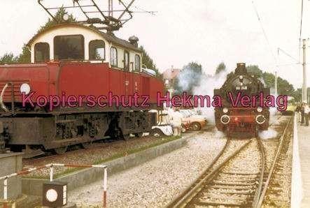 Karlsruhe Straßenbahn - Bahnhofsfest - Ettlingen Stadt - E-Lok und Lok 86 346
