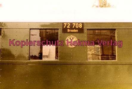 Karlsruhe Straßenbahn - Bahnhofsfest - Ettlingen Stadt - Historischer Zug - Wagen Nr. 72 708 (Dresden)