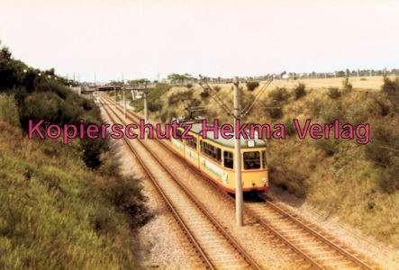 Karlsruhe Straßenbahn - Strecke nach Neureut - GT.