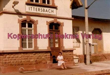 Karlsruhe Straßenbahn - Bahnhof Ittersbach