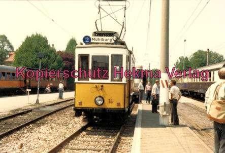 Karlsruhe Straßenbahn - Karlsruhe Albtalbahn - 25 Jahre AVG Jubiläum - Tw. Nr. 14