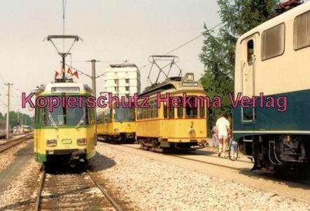 Karlsruhe Straßenbahn - Karlsruhe Albtalbahn - 25 Jahre AVG Jubiläum - Verschiedene Fahrzeuge