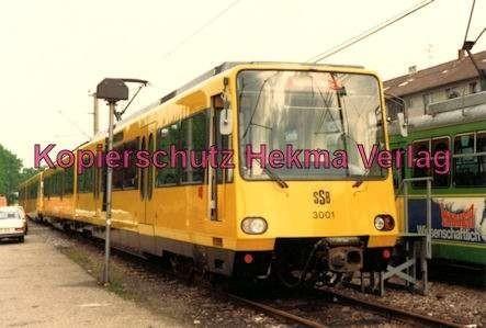 Karlsruhe Straßenbahn - Karlsruhe Albtalbahn - 25 Jahre AVG Jubiläum - SSB Nr. 3001 -B1