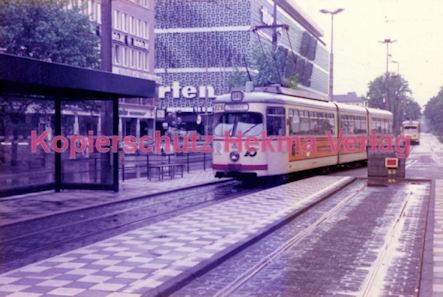 Krefeld Straßenbahn - Linie 041 Wagen Nr. 808
