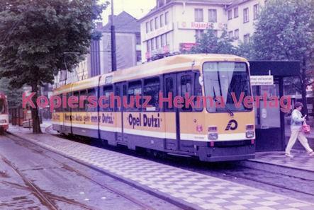Krefeld Straßenbahn - Linie 043 Wagen Nr. 832