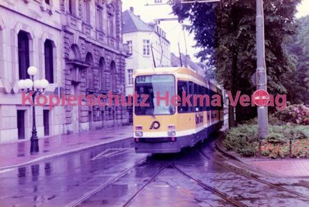 Krefeld Straßenbahn - Linie 042 Wagen Nr. 842