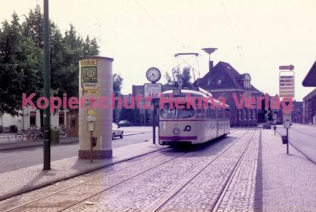 Krefeld Straßenbahn - Wilhelmplatz - Linie 041 Wagen Nr. 810